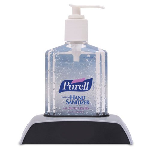 how to change purell hand sanitizer dispenser