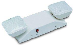 Standard 2-Head Emergency Light, White