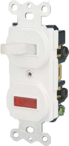 15 Amp Toggle Switch w/ Pilot Light