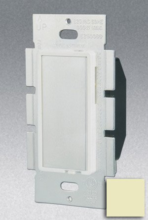 Single Pole 600W Touch Dimmer, Ivory