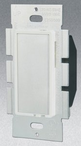 Single Pole 600W Touch Dimmer, White