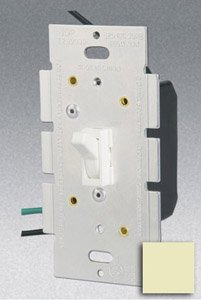 1Z4A74E20348990246Single Pole 600W Toggle Dimmer, Ivory