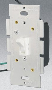 3-Way 600W Toggle Dimmer, White