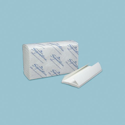 Signature White 2-Ply C-Fold Hand Towel