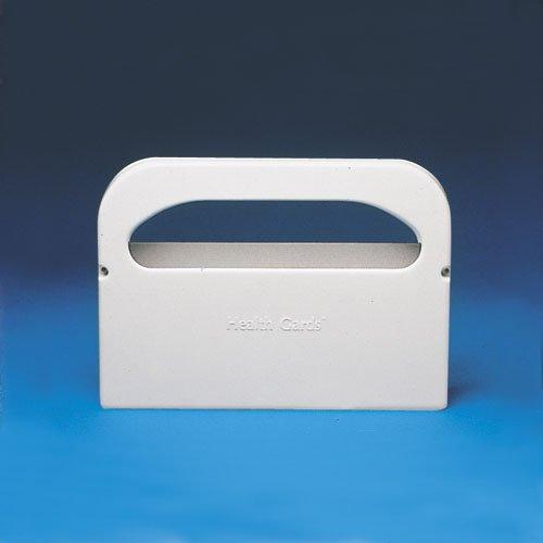 Hospeco Gards White Plastic Toilet Seat Cover Dispenser