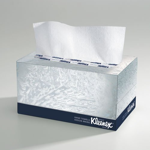 KLEENEX White Hand Towels In A POP-UP* Box