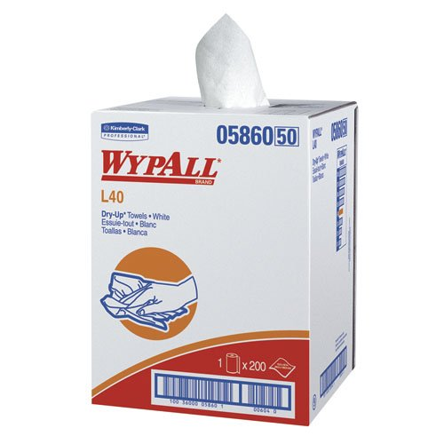 WypAll DRY-UP* White Towels