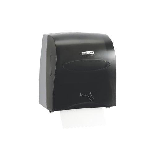 SCOTT SLIMROLL Black Hard Roll Towel Dispenser