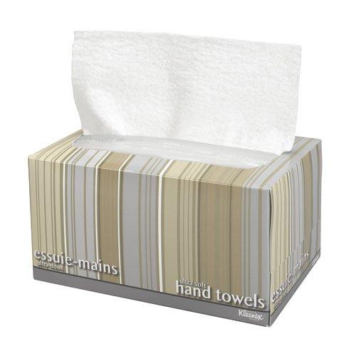 KLEENEX White Ultra Soft Hand Towel in a POP-UP Box