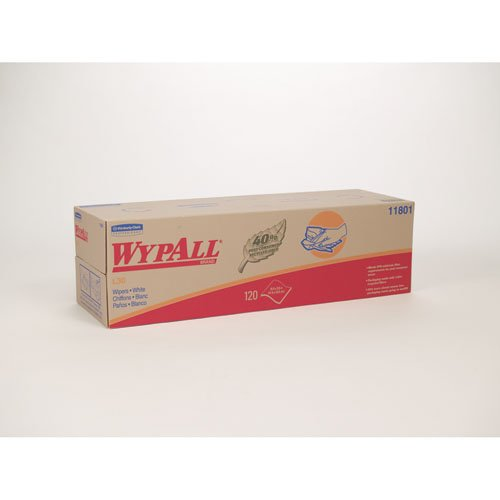 WYPALL White L30 Wipers in a POP-UP Box