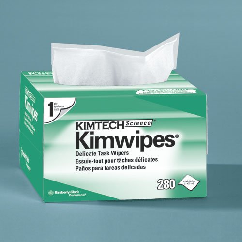 KIMTECH Science Kimwipes White Delicate Task Wipers 280 ct