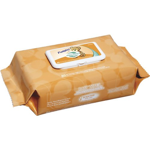 Nice-Pak Pudgies Scented Baby Wipes