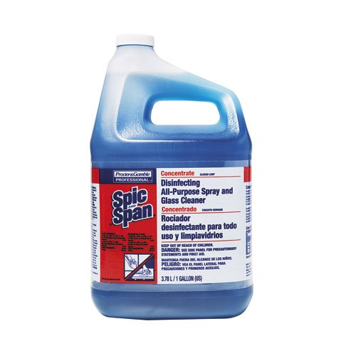 Spic & Span Disinfecting Spray & Glass Cleaner Concentrated 1 Gal