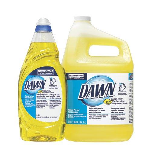 Dawn Lemon Scent Dishwashing Liquid 38 oz.