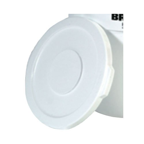 Brute White 22 in. Round Lids for 32 Gal Containers