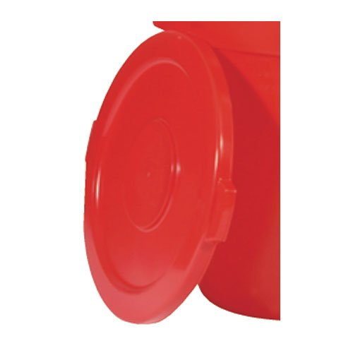 Brute Red 22 in. Round Lids for 32 Gal Containers