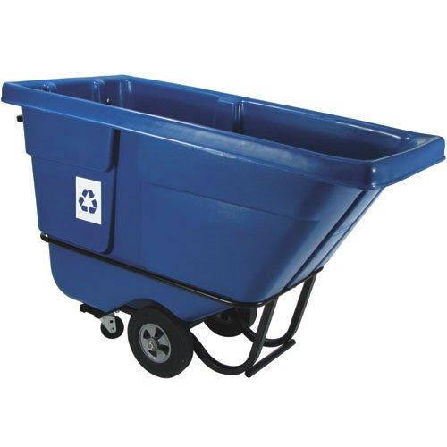 Blue Bulk Recycling Tilt Truck
