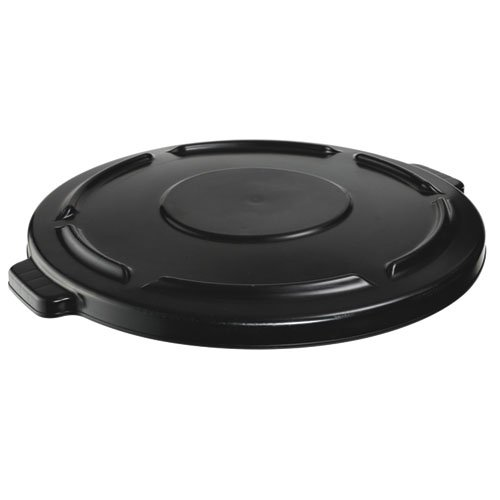 Brute Black Self-Draining Lid for 44 Gal Containers