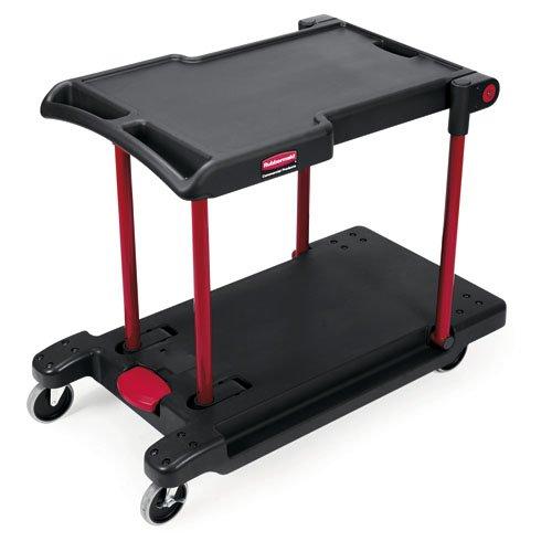 Black 400 lb Capacity Convertible Utility Cart