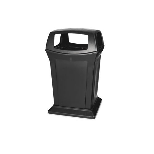 Ranger Black 45 Gal Container w/ Four Doors