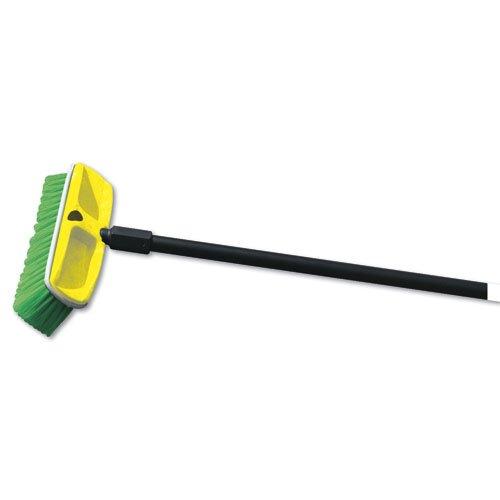 Nylon Truck Brush 2.75 in. Wide w/ 10 in. Long Plastic Block