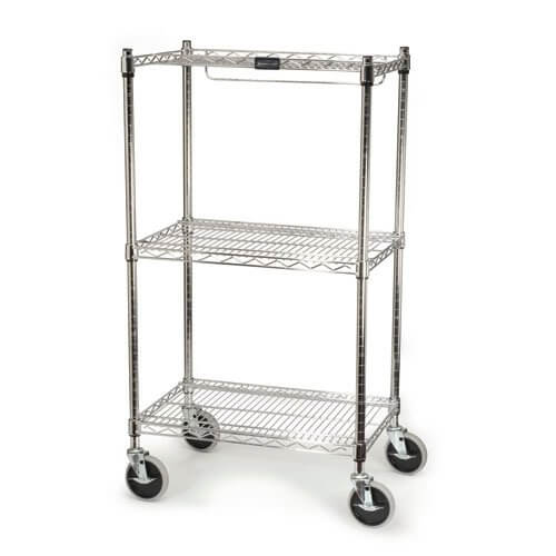 Chrome Safety Storage Cart