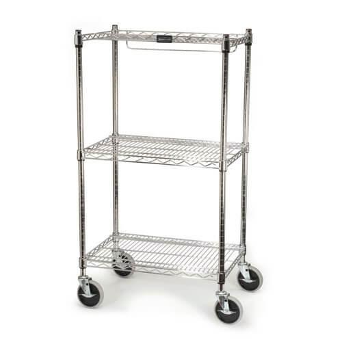Chrome Safety Storage Cart