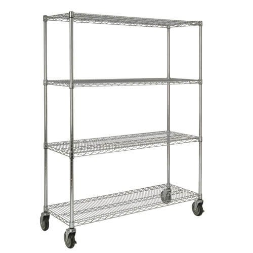ProSave Chrome Mobile 50 in. Rack