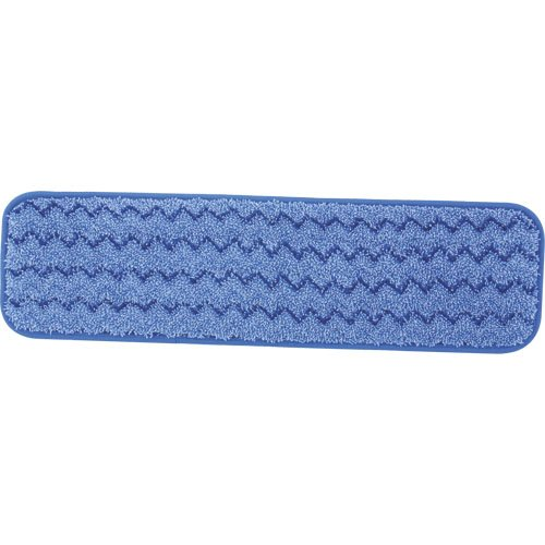 Rubbermaid Q411 Blu Hygen Blue Microfiber Damp Room Mops