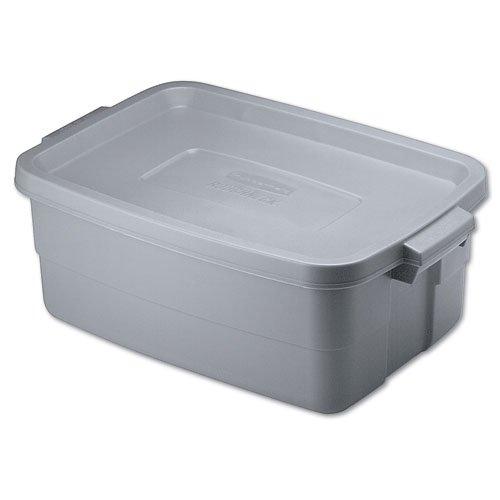 Roughneck Steel Gray 10 Gal Storage Box