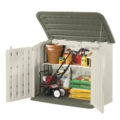 Large Horizontal Outdoor Storage Shed