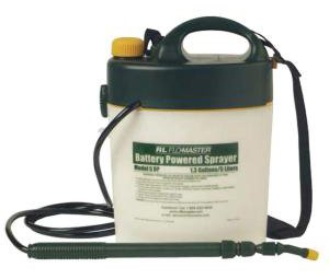 Portable Battery-Powered 1.3 Gal Capacity Sprayer