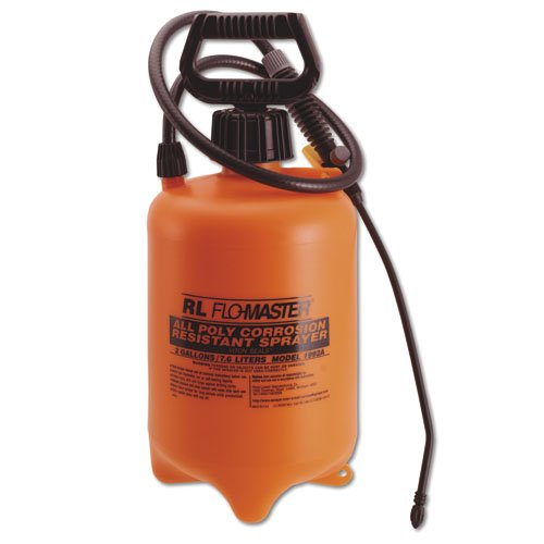 Acid-Resistant 2 Gal Sprayer w/ Adjustable Nozzle