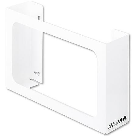 White, Enamel 3-Box Glove Dispenser
