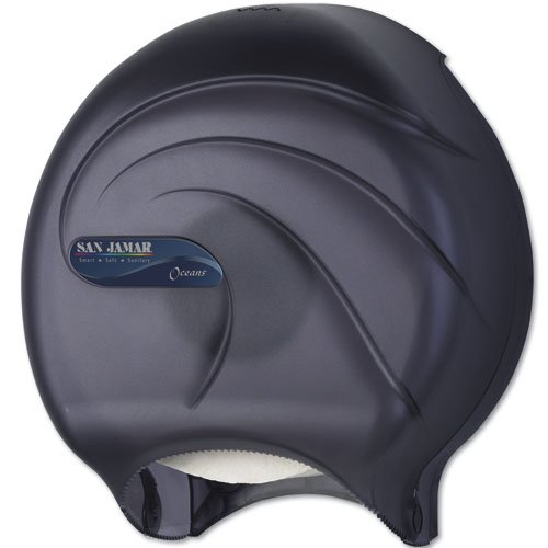JUMBO OCEANS Black Pear Single Roll Bath Tissue Dispenser