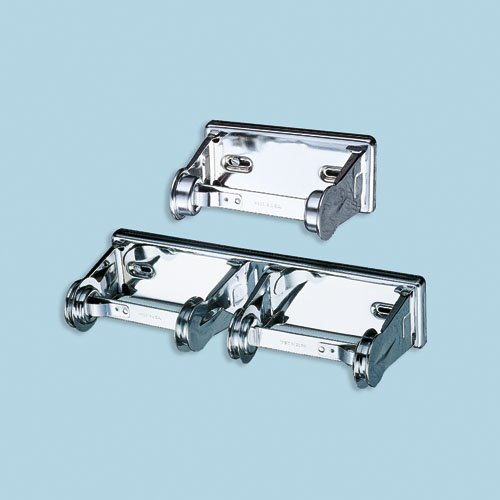 Steel Locking Double Roll Toilet Tissue Dispenser