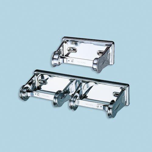 Steel Locking Double Roll Toilet Tissue Dispenser