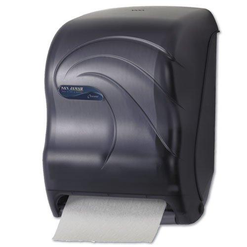Tear-N-Dry Black Touchless Roll Towel Dispenser 13X9X15-1/2
