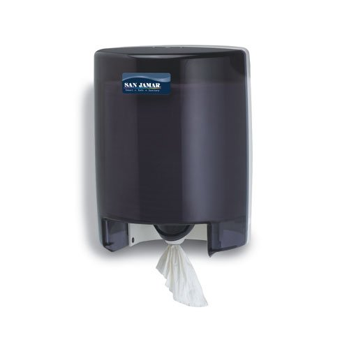 Black Classic Center-Pull Towel Dispenser