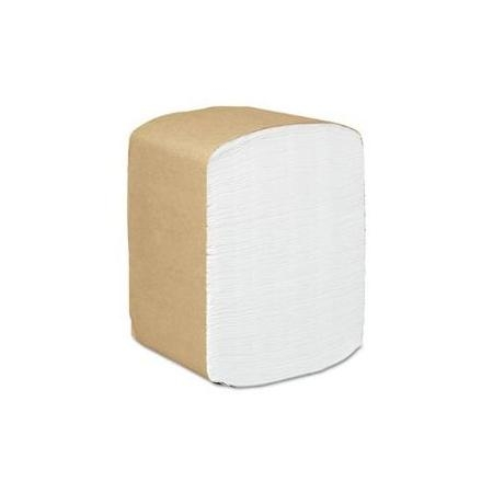 SCOTT White 1-Ply Tall Fold Dispenser Napkins, 6.75X9.6 Folded