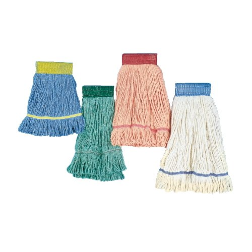 Green Super Loop Cotton Fiber Wet Mop Head, XL