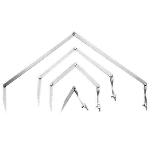 1220 Small Folding Aluminum Radius Marker