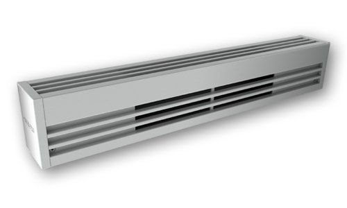 1500W Architectural Commercial Baseboard, 240 V, Aluminum, White