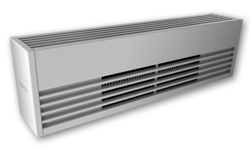 2500W Architectural Commercial Baseboard, 240 V, Aluminum, White
