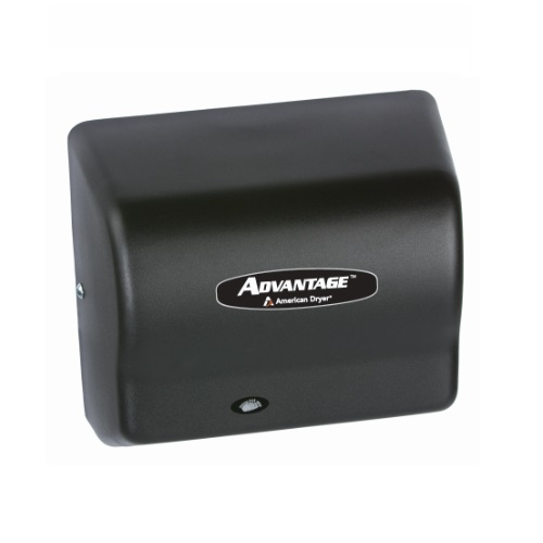 1400W Advantage AD Hand Dryer, 100-240V, Steel Black Graphite