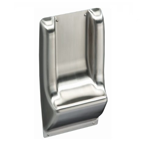 """18"""" ADA Wall Guard, Stainless Steel"""