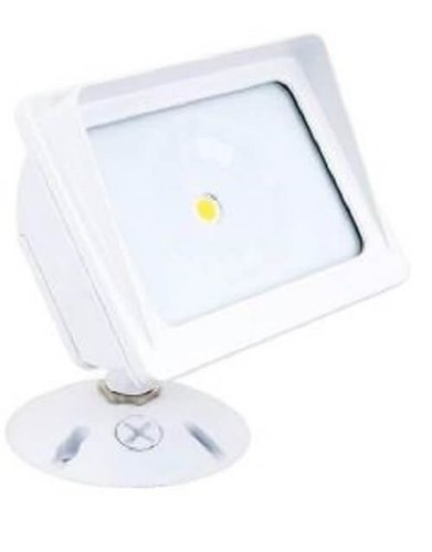 20W LED Square Panorama Flood Light 277V 3000K White