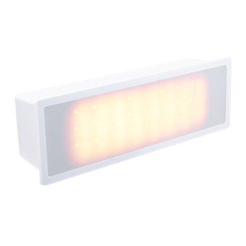 White, 3W Plastic LED Light Module, 3000K, 120-277V