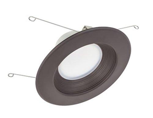 13.5W 5-6'' Epiq 56 LED Downlight 120V 4000K Dimmable Dark Bronze Baffle