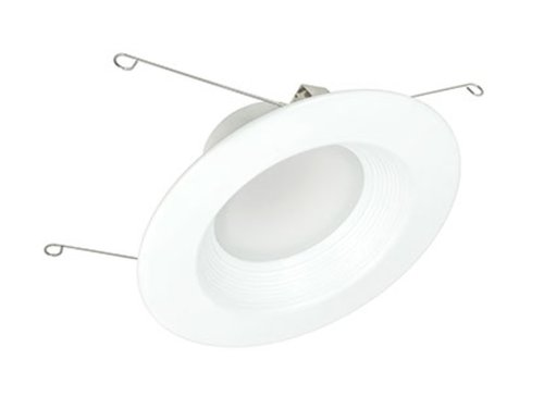 13.5W 5-6'' Epiq 56 LED Downlight 120V 4000K Dimmable White Baffle